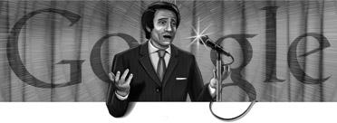 Google Logo: Abdel Halim Hafez's Birthday (1929 – 1977) - Egyptian singer & actor
