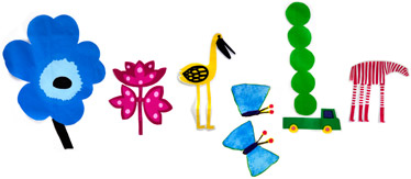 Google Logo: First Day of 2012's Spring. Design by Marimekko.